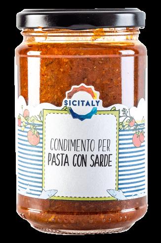 Condimento per Pasta con Sarde | Sicitaly